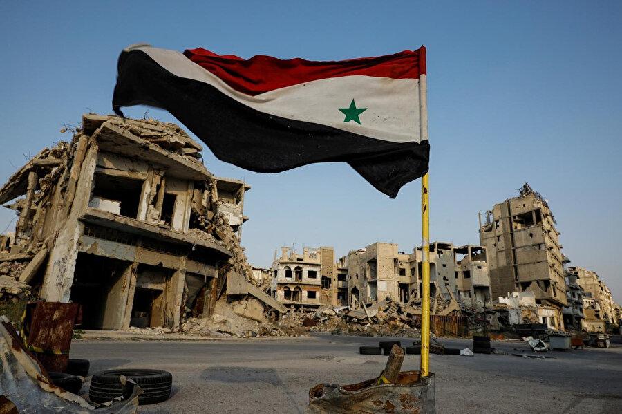 Suriye'deki savaşı Rusya ve İran'ın desteklediği Baas rejiminin kazanması, Arap ülkelerini politika değiştirmeye zorladı.