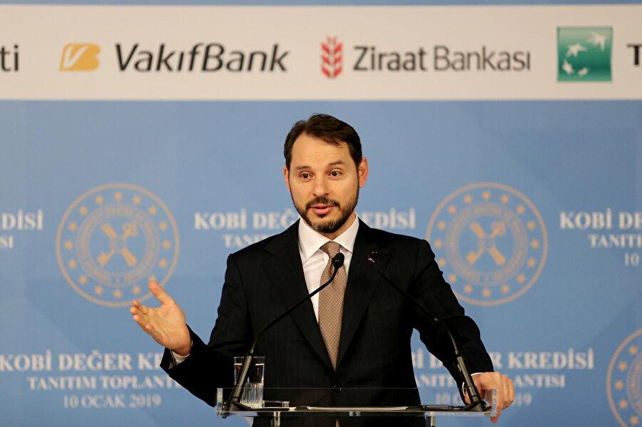 Hazine ve Maliye Bakanı Berat Albayrak, KOBİ Değer Kredisi Tanıtım Toplantısı'na katılarak konuşma yaptı.
