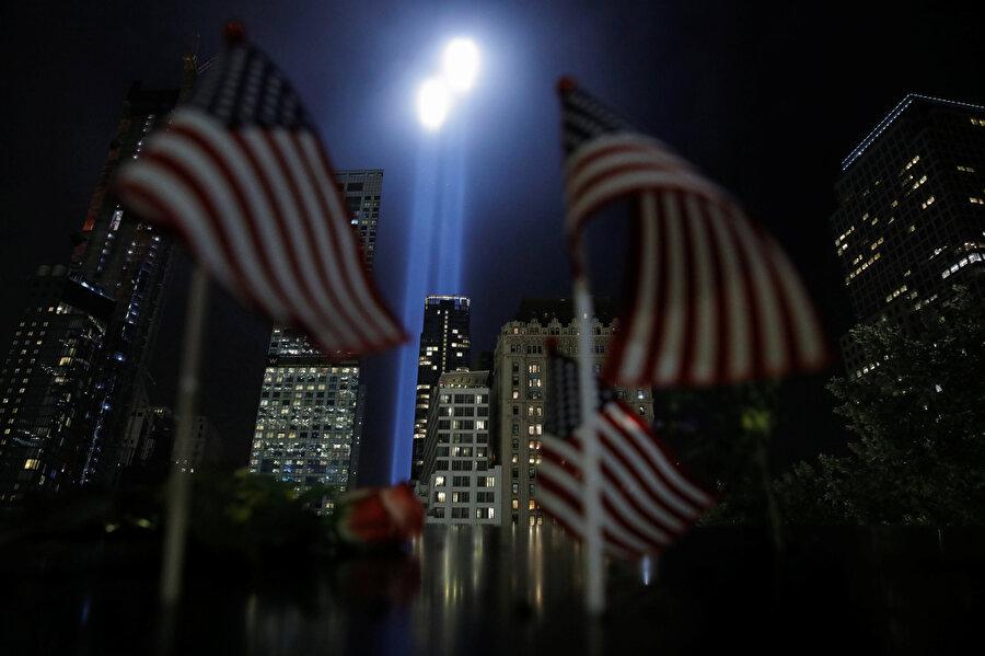 11 Eylül saldırılarında hayatlarını kaybedenler için tören düzenlenmişti.