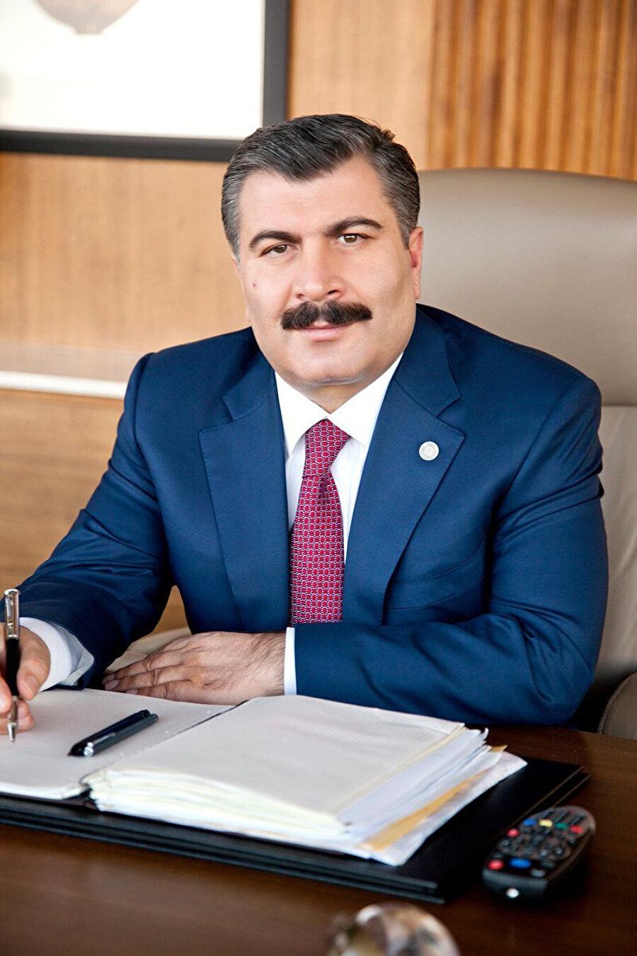 Sağlık Bakanı Fahrettin koca.