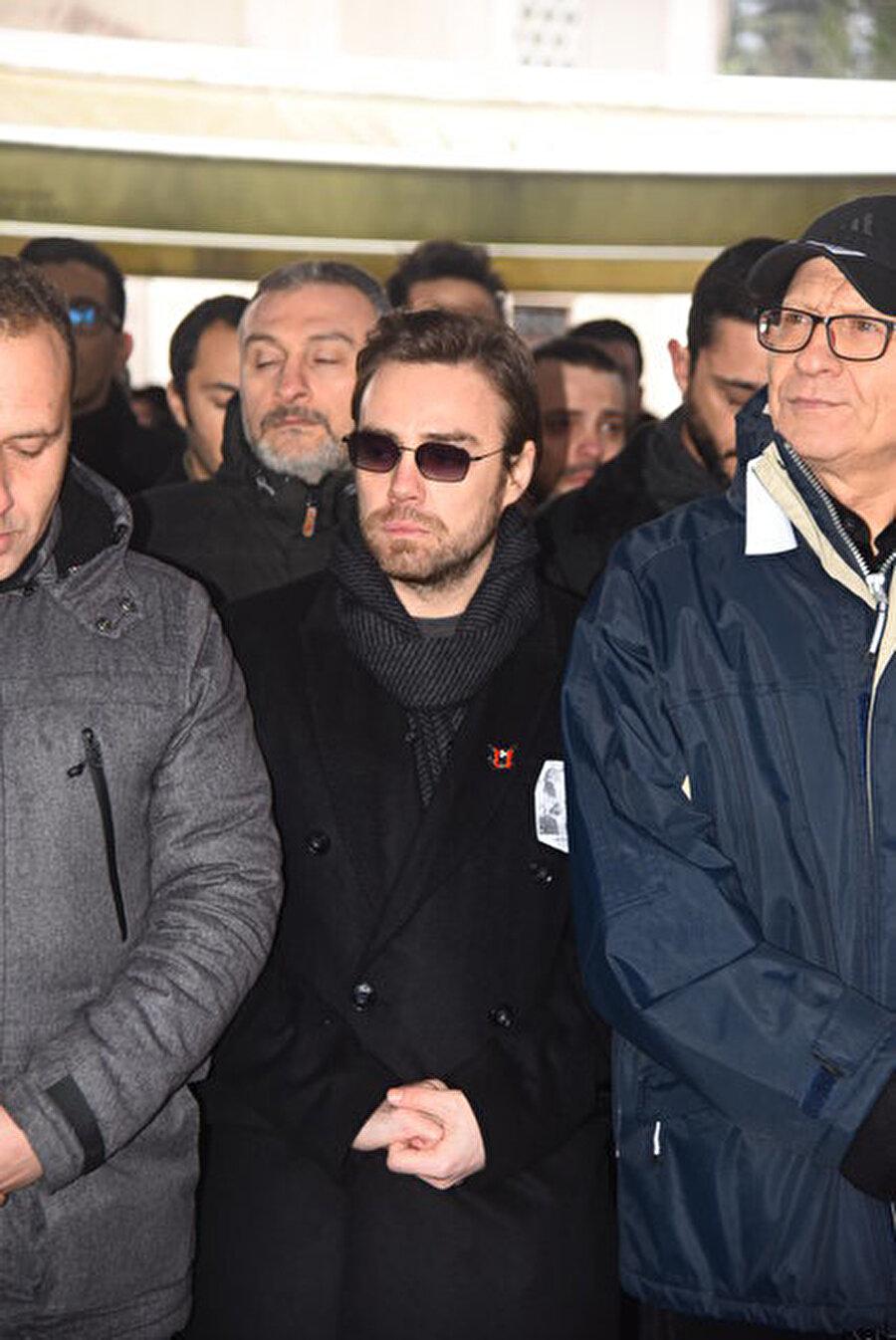 Murat Dalkılıç, Aylin Erçel'in cenazesine katıldı.