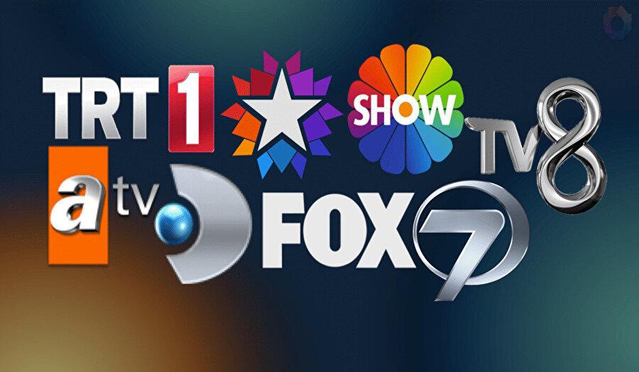 Türk televizyon kanalları.