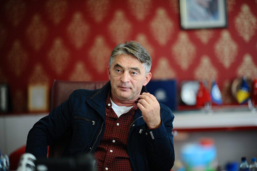 Demokratik Cephe (DF) Genel Başkanı Zeljko Komsic