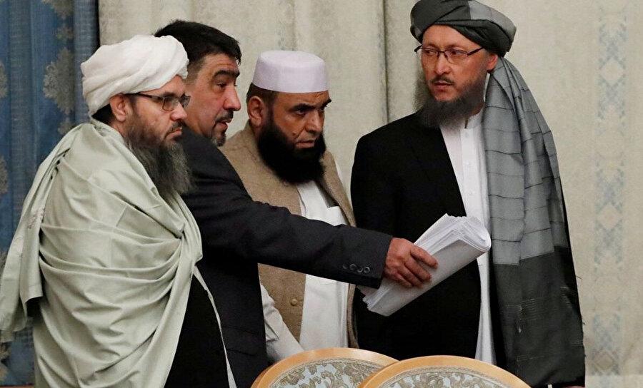 Taliban yetkilileri, kısa bir süre önce ABD ile yapılması beklenen görüşmeyi iptal etmişti.