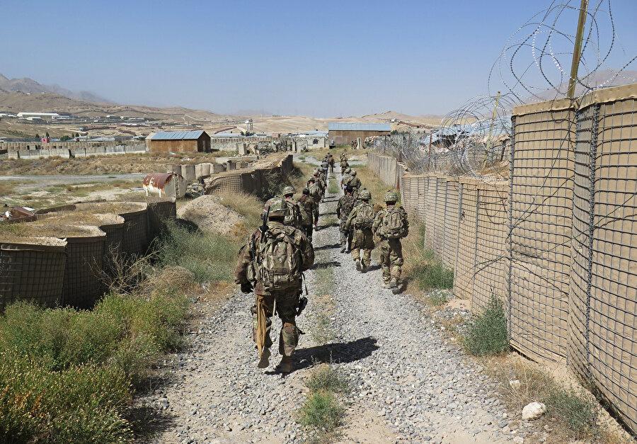Afganistan'da bulunan ABD askerleri.