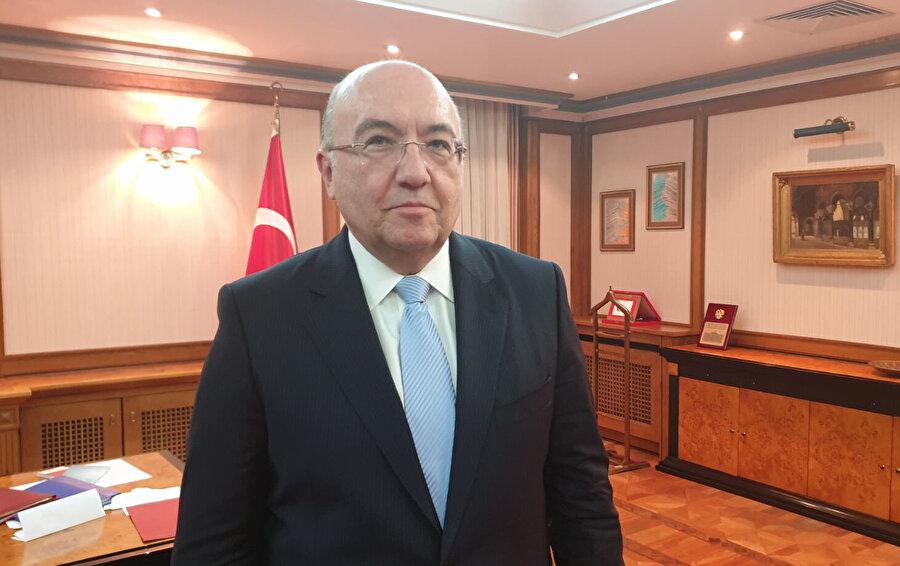 Türkiye'nin Moskova Büyükelçisi Mehmet Samsar, konuya ilişkin açıklamalarda bulundu.