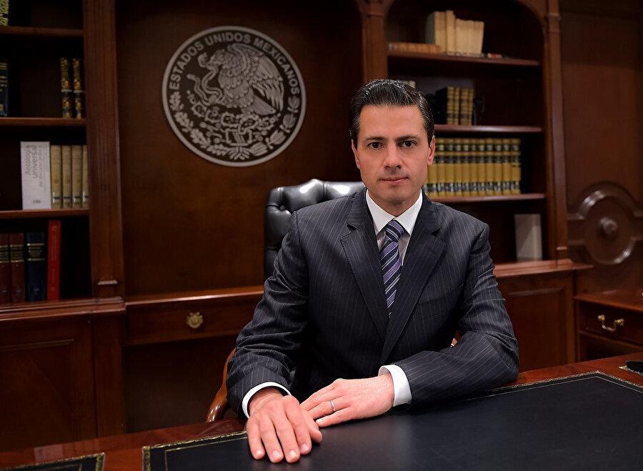 Eski Meksika Devlet Başkanı Enrique Pena Nieto