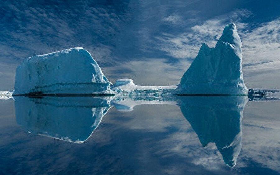Erime ile birlikte küresel deniz suyu seviyesi yaklaşık bir buçuk cm yükseldi.