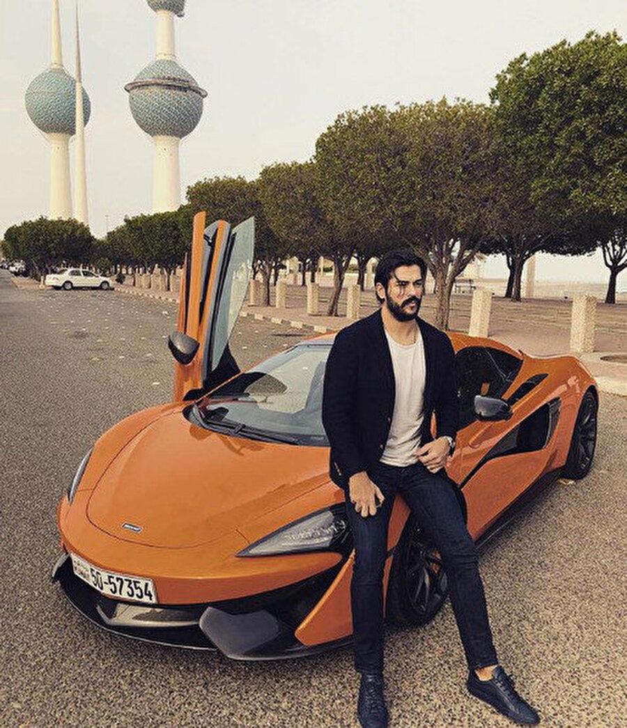 Özçivit'e, Kuveyt'te McLaren marka araç tahsis edildi.