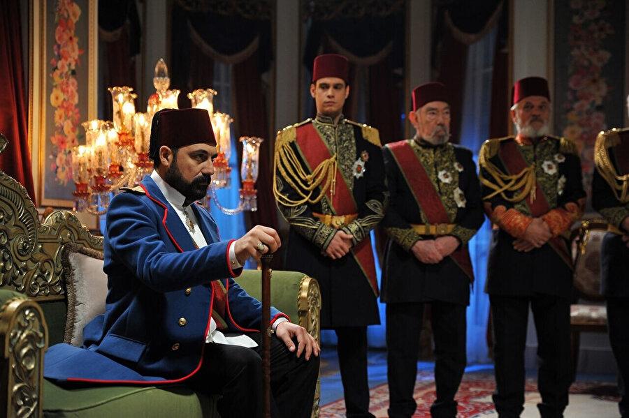 Payitaht Abdülhamit dizisinden kareler.