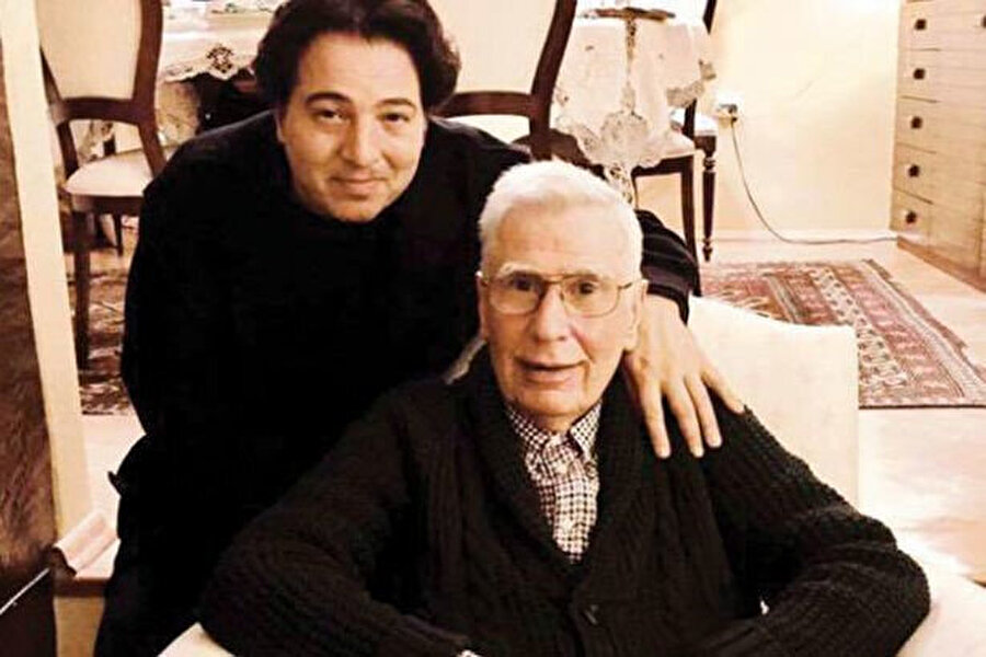 Fazıl Say ve babası Ahmet Say.