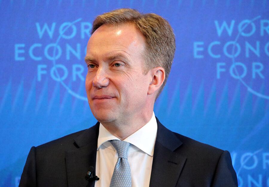 Dünya Ekonomik Formu Başkanı Borge Brende, Colosny'deki Davos yıllık toplantısı öncesinde basın toplantısı düzenledi.
