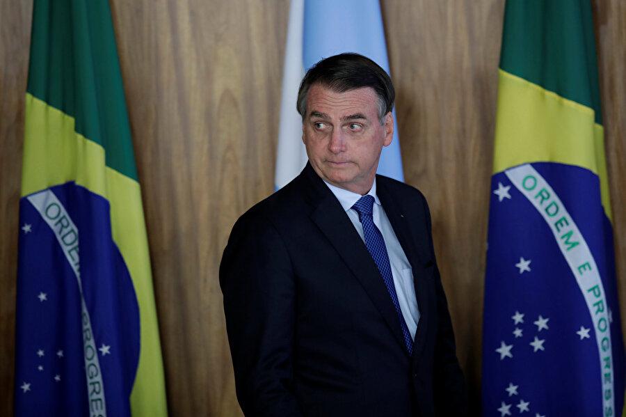 Aşırı sağcı Brezilya Başbakanı Jair Bolsonaro'nun konuşması büyük bir merakla bekleniyor.