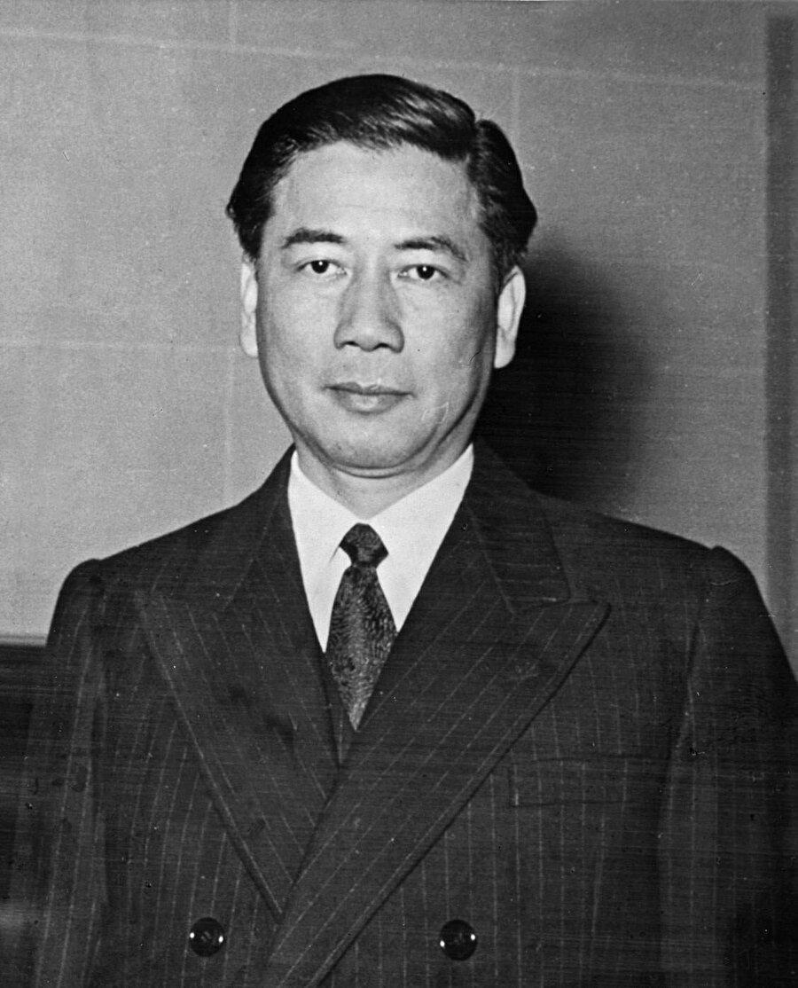 Güney Vietnam Devlet Başkanı Ngo Dinh Diem