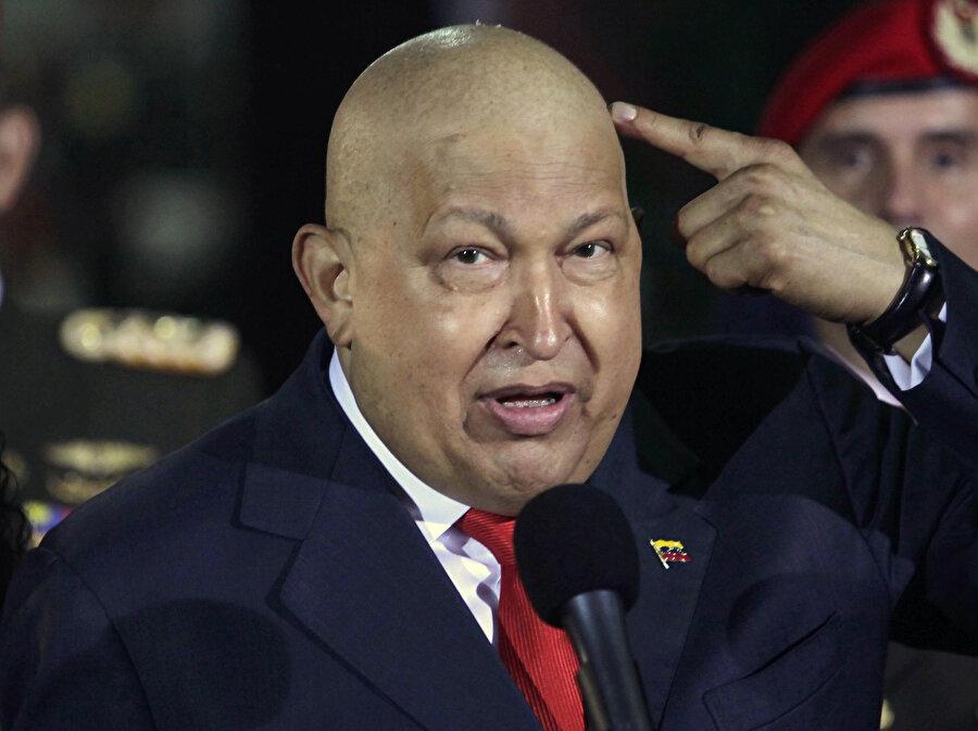 Hugo Chavez, emperyalizm karşıtı duruşuyla ABD'nin hedefi haline gelmişti.