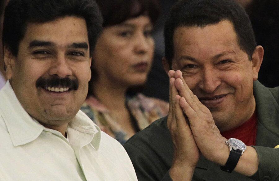 Hugo Chavez, kendisinden sonra devlet başkanlığı için yardımcısı Maduro'yu işaret etmişti.