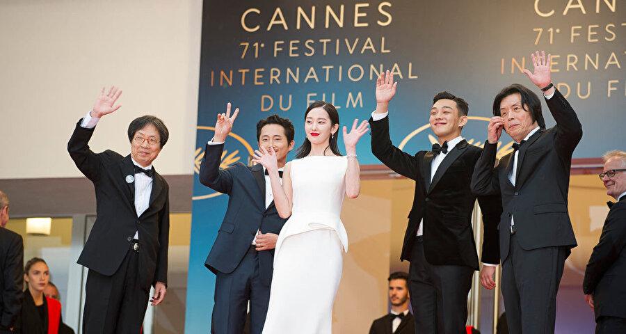 Güney Kore yapımı Burning(Şüphe) filmi Cannes Film Festivali'nde ana film kategorisinde yarıştı.