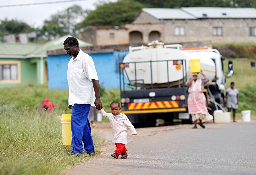 Su Afrika için sorun olmaya devam ediyor.