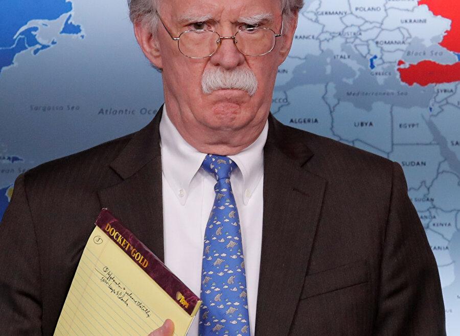 Beyaz Saray Ulusal Güvenlik Danışmanı John Bolton