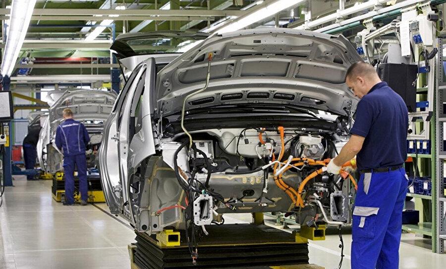 Mevcut durumda otomotiv sektörü ihtiyaç olan meslek dallarını kapsıyor.