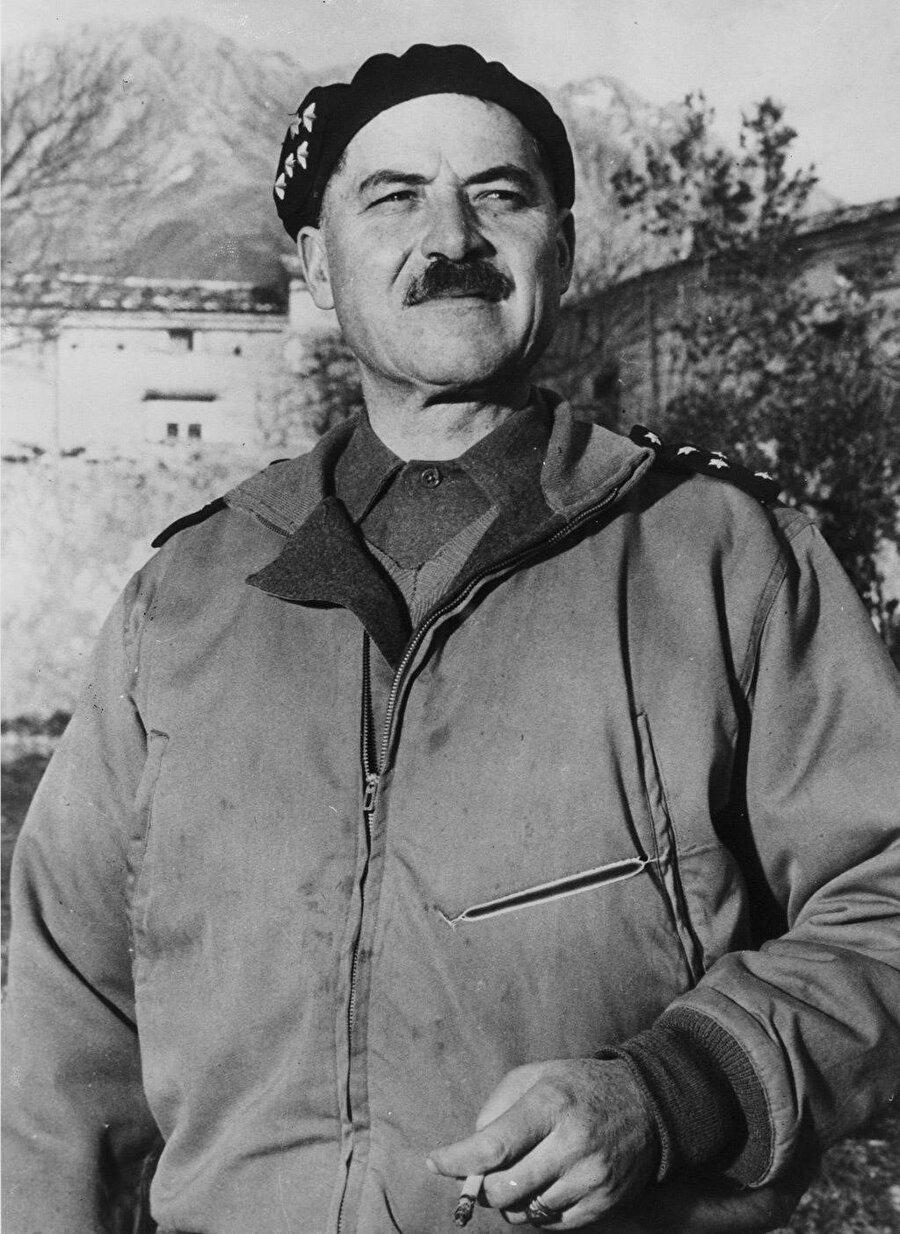 Fransız General Alphonse Juin.