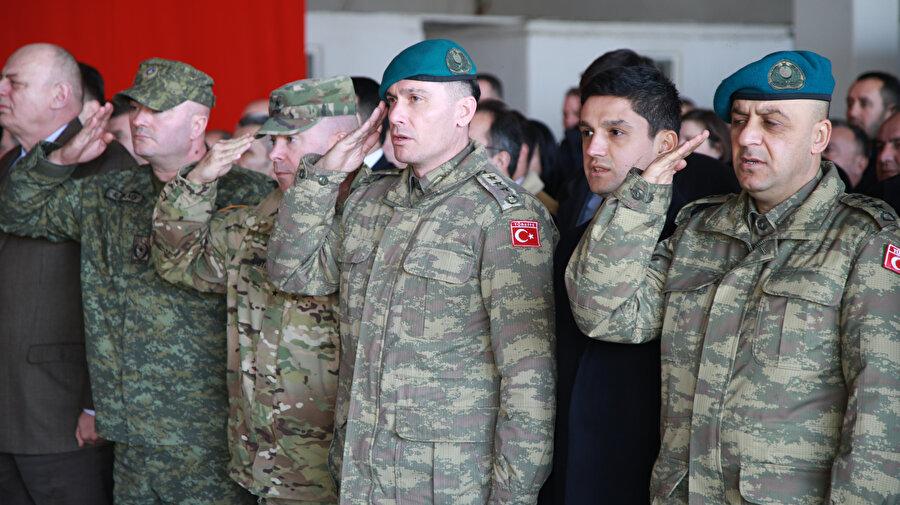Kosova'daki NATO Barış Gücü (KFOR) bünyesinde görev yapan Türk Temsil Heyeti.
