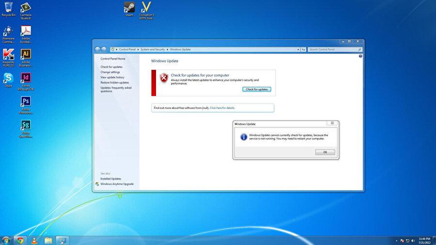 Windows 7'nin ücretsiz destek süresi gelecek yıl 14 Ocak'ta son buluyor. Bu süreye kadar Windows 10'a geçmekte yarar var.