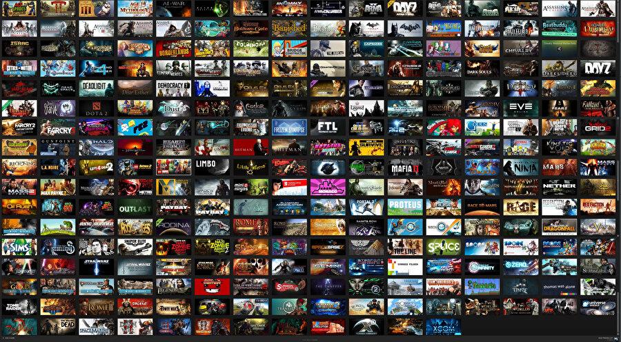 Steam, bünyesinde barındırdığı binlerce farklı oyunla alanının en güçlü temsilcisi konumunda.
