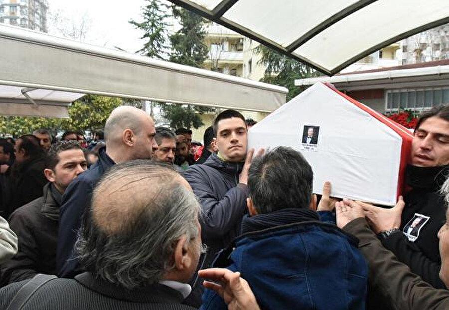 Menteş'in cenazesinden görüntüler.