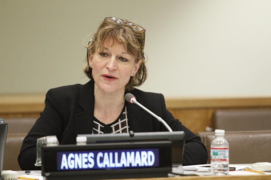 Birleşmiş Milletler (BM) Yargısız ve Keyfi İnfazlar Özel Raportörü Agnes Callamard
