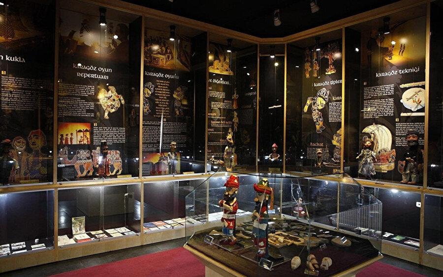 Bursa Karagöz ve Hacivat müzesi.