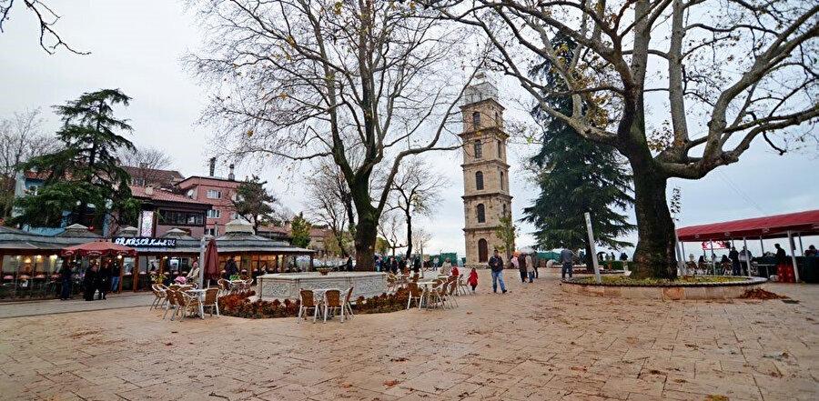 Bursa Tophane Saat Kulesi.