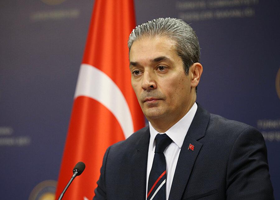 Dışişleri Bakanlığı Sözcüsü Hami Aksoy, konuya ilişkin açıklamalarda bulundu.