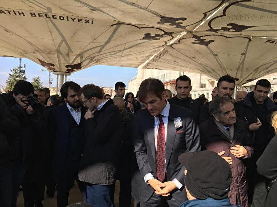 Mehmet öz cenaze namazından bir kare.