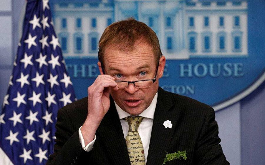 Beyaz Saray Bütçe Direktörü Mick Mulvaney