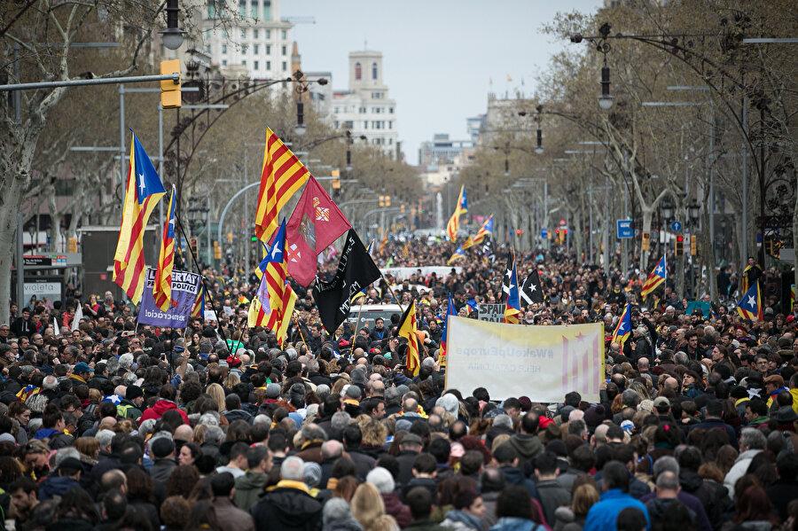 25 Mart 2018'de büyük bir protesto gösterisi düzenlenmişti.
