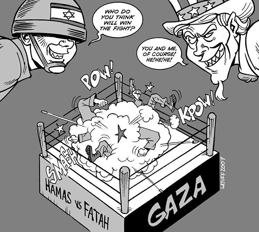 Filistin kamuoyunda, Fetih-Hamas geriliminin İsrail'in işini kolaylaştırdığı algısı hâkim.