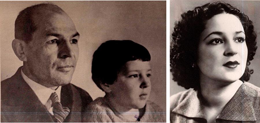 Kerim Hakimov ve kızı Flora Hakimova...