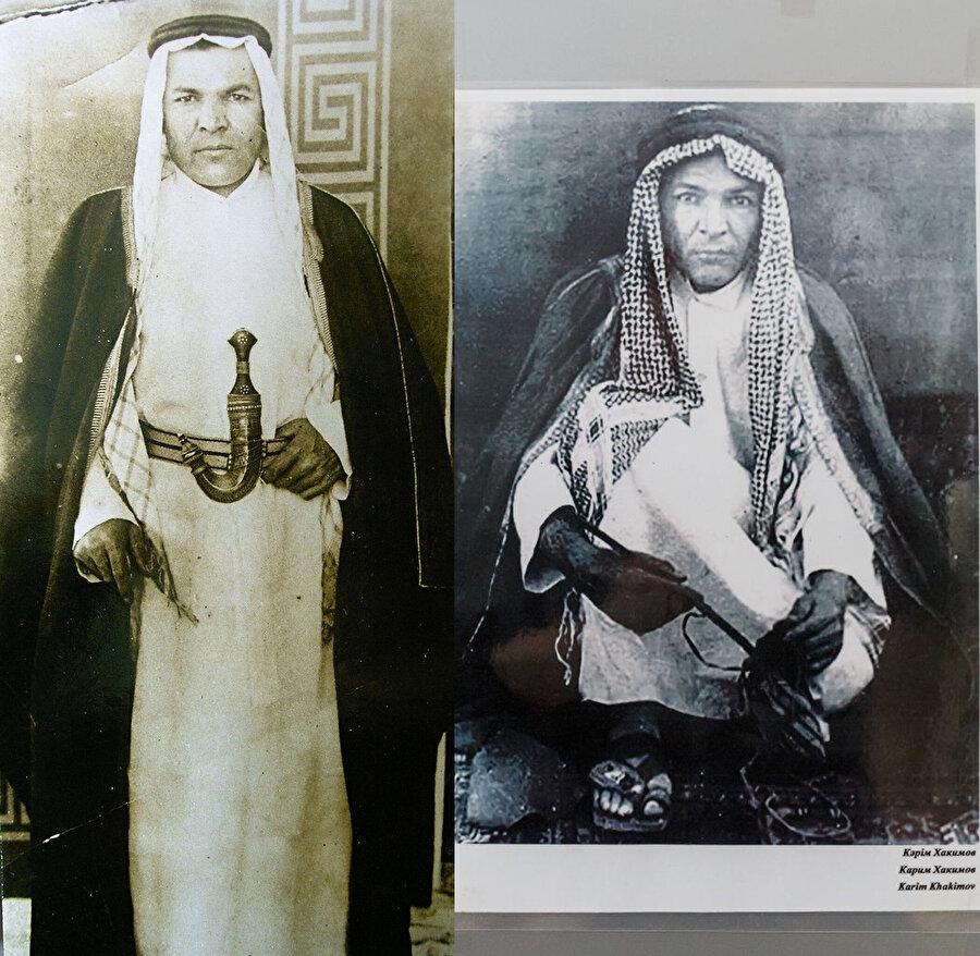 Kerim Hakimov geleneksel Arap kıyafetinde...