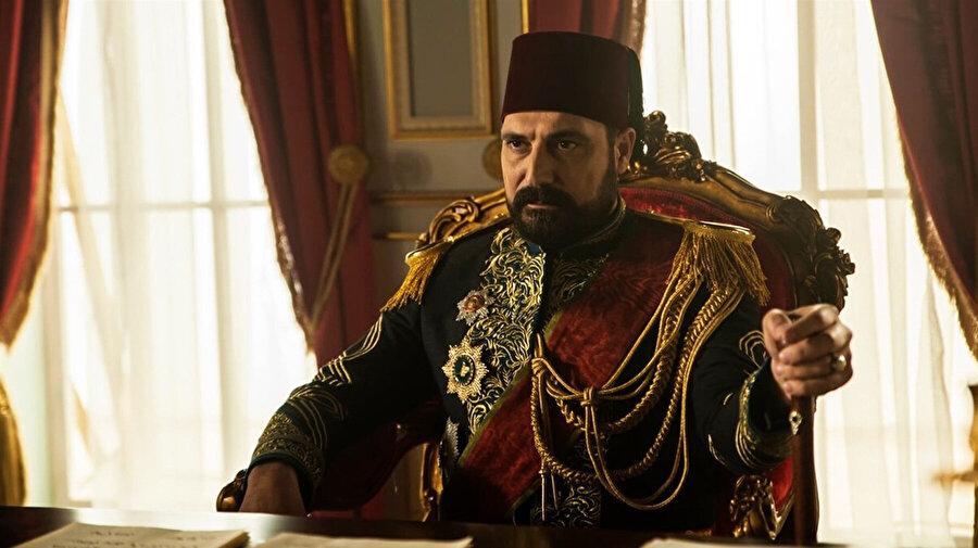 Payitaht Abdülhamid dizisinden bir kare.
