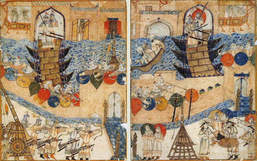 Moğollar, Bağdat önlerinde...