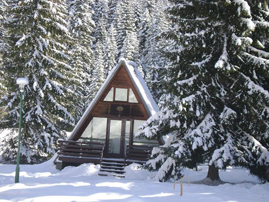 80 yıllık kayak geçmişi olan Pamporovo'da 7 bin yatak kapasiteli 60'tan fazla otel bulunuyor.