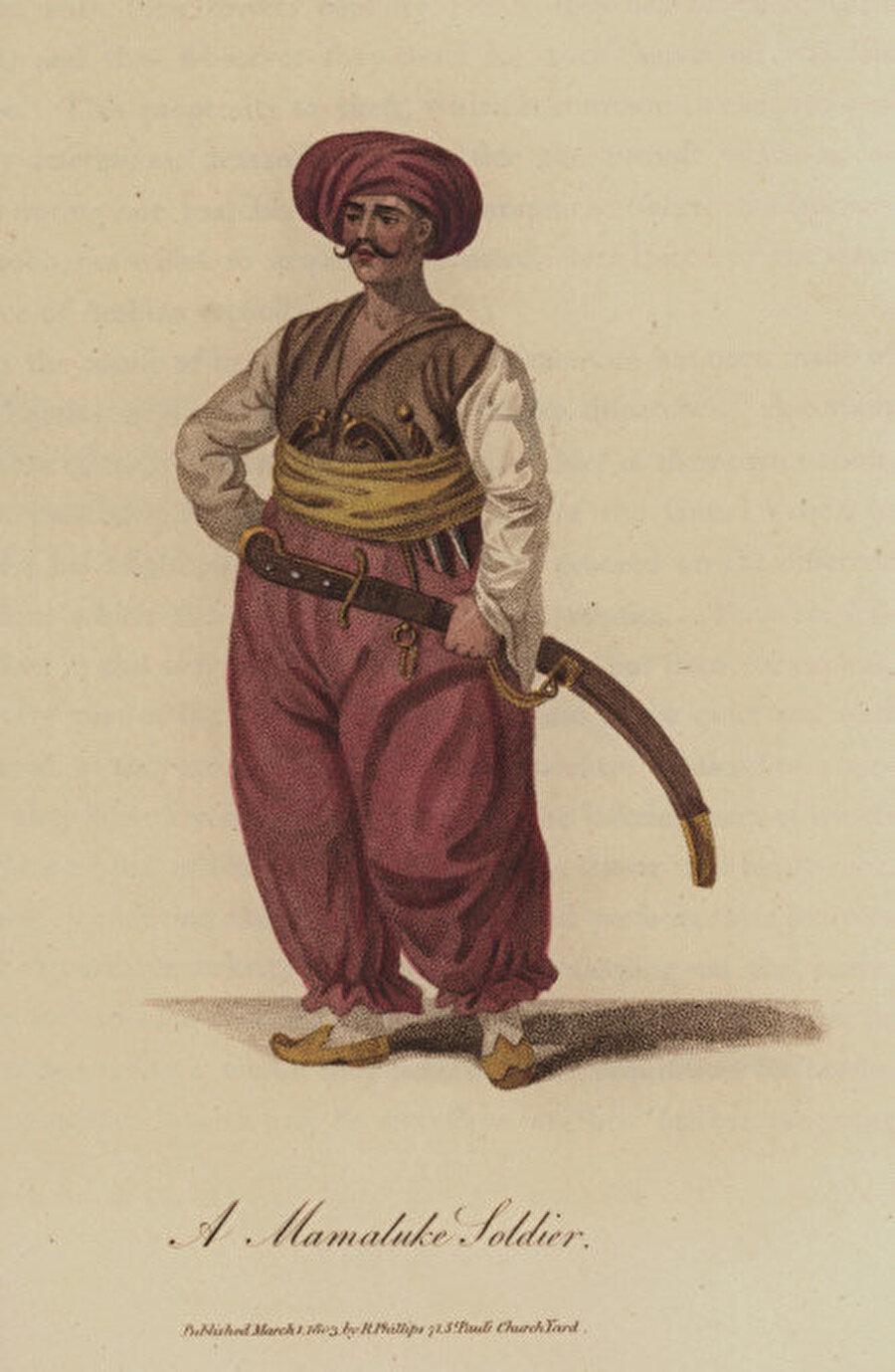 Memlük askeri.