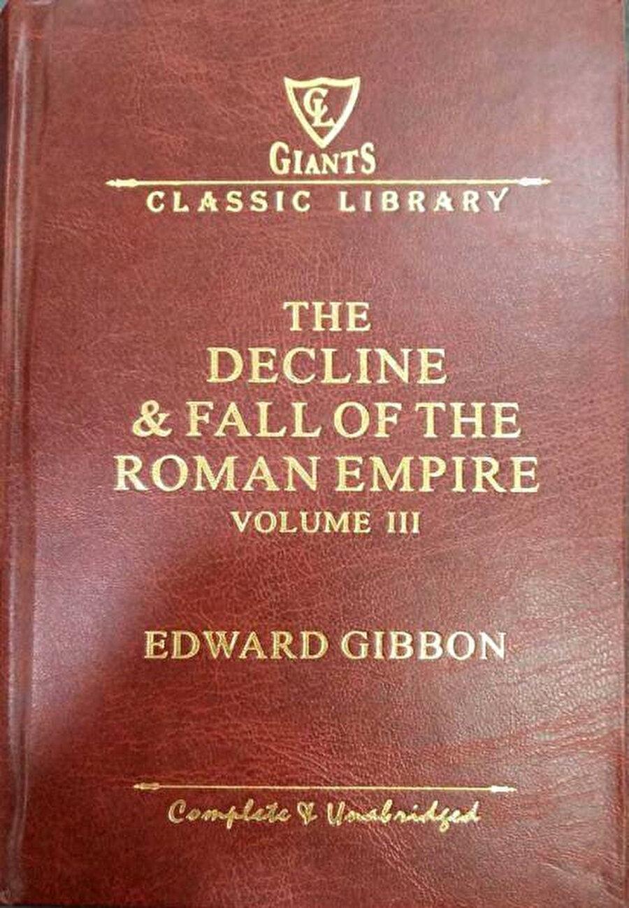 Gibbon'un ünlü çalışmasının üçüncü cildinin kapağı.
