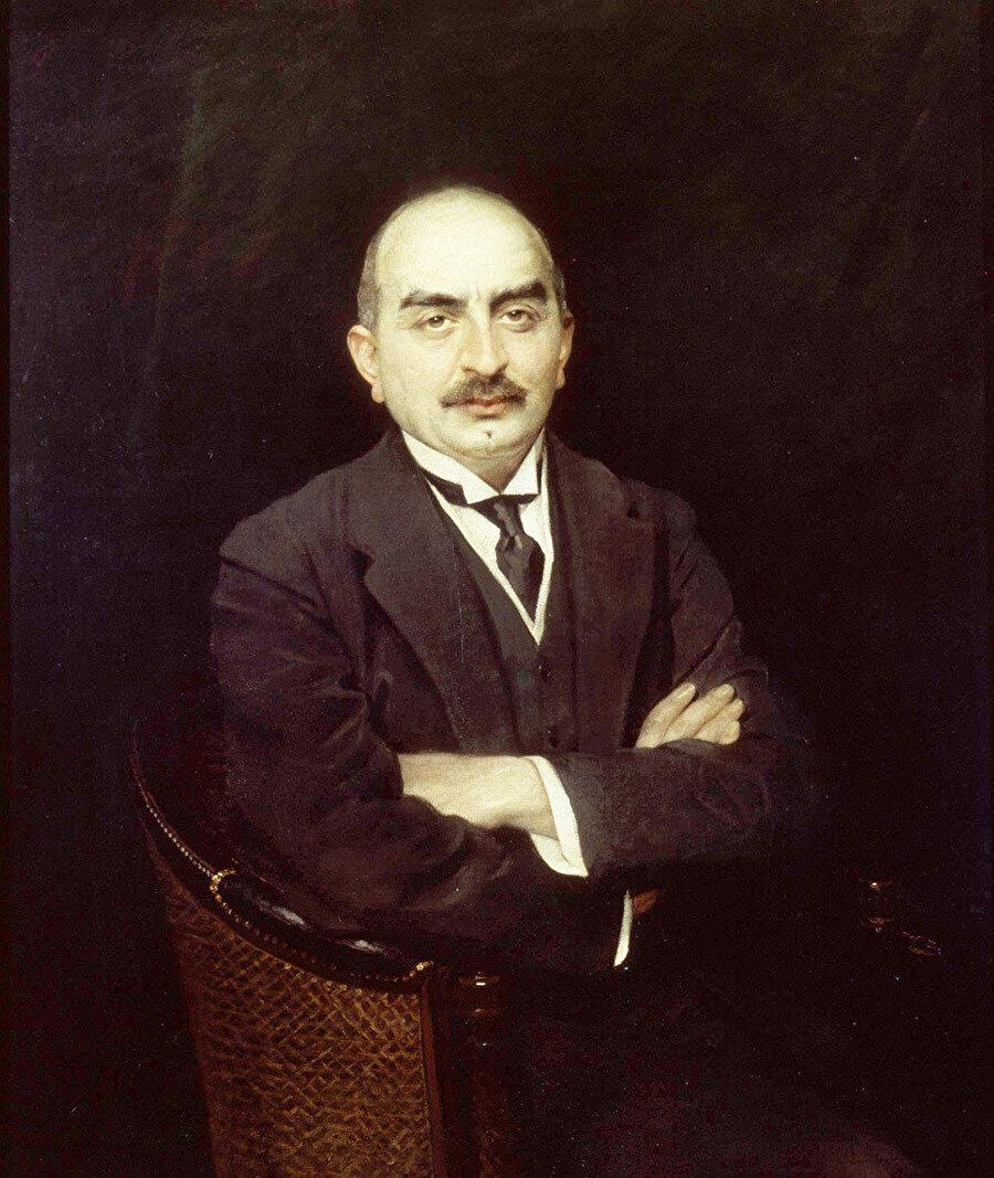 Calouste Sarkis Gülbenkyan'ın 1912 tarihli yağlıboya portresi.