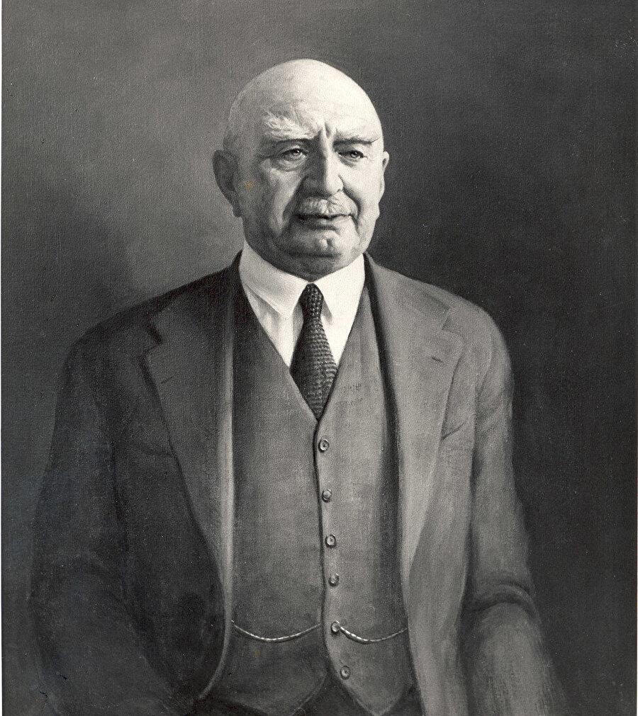 Gülbenkyan'ın, ölümünden hemen önce yapılan bir portresi.