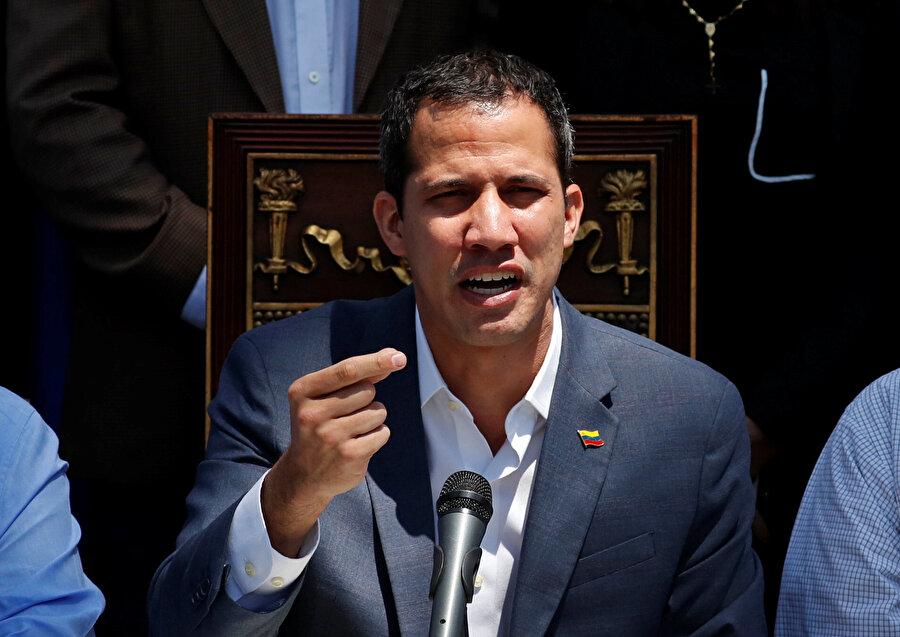 Ulusal Meclis (AN) Başkanı Juan Guaido, ülke askerlerine çağrıda bulundu.