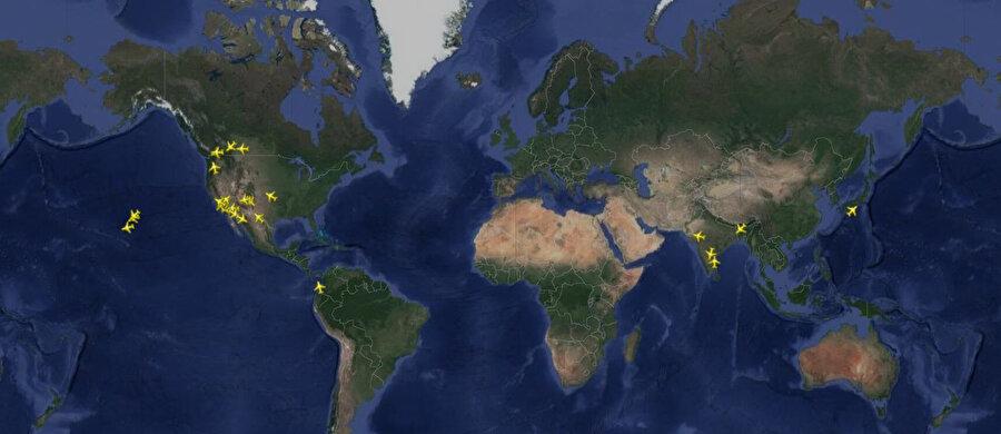 Boeing Max'in radara yansıyan görüntüsü