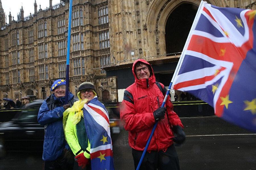 Brexit, ülkede çok sayıda protestoya neden oldu.