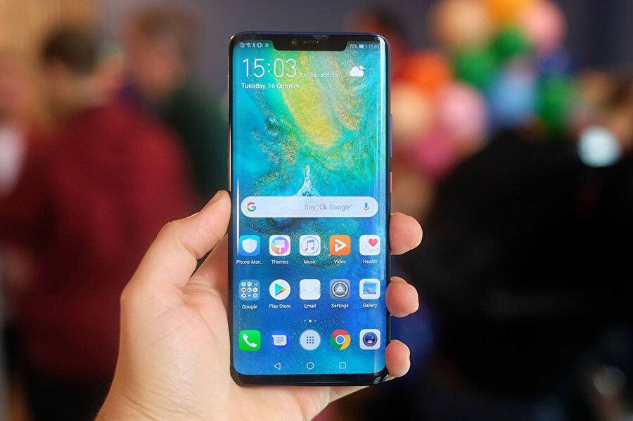 Mate 20 Pro da, Huawei'nin indirimli onarıma dahil ettiği modeller arasında yer alıyor.